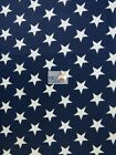 American Stars Poly Cotton Fabric Sold By The Yard Usa Patriotic Polycotton