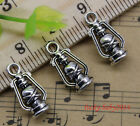 Wholesale Lot Jewelry Making Retro Style Old Lamp Alloy Charms Pendants 16x8mm