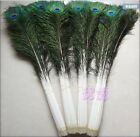 Wholesale 10-500pcs 25-100cm10-40inches Beautiful Peacock Feathers Eyes