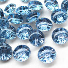 New 1050pcs Clear Plastic Buttons Half Ball 13mm Sewing Craft