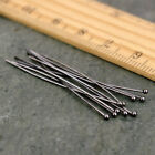 100pcs Silver Gold Plated Ball Head Pins Jewelry Finding 1620304050mm