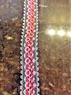 5 Yards-78 Vintage Lace And Satin Ribbon Trim- You Choose Color