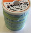 Sulky Blendables 12 Weight-100 Cotton Mercerized-330 Yards-various Colors