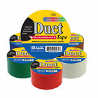 Bazic Assorted Solid Color 1.89 Inch X 10 Yrd 48mm X 9.15m Duct Tape Wholesale