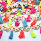 10yard Tassel Silk Tassels Trim Cotton Trimming Lace Handmade Craft Sewing Decor