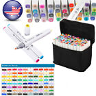 80 Colors Artist Dual Head Sketch Touch Five Markers For School Drawing Sketch