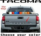 Premium 2016 2017 2018 Toyota Tacoma Vinyl Tailgate Letters Decal 10yr Warranty