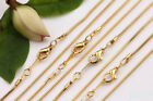 5pcs Silvergold Plated Snake Chain Clasp Diy Necklace Jewelry Making Craft 43cm