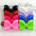 6 Pieces 54mm Jumbo Extra Large Bows Bow Flatback Resin Cabochons