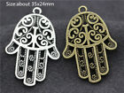 Wholesale Antique Silverbronze Alloy Jewelry Crafts Charms Pendant Making