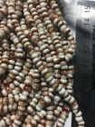 Czech 60 Stripe Picasso Seed Beads