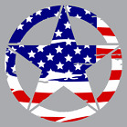 Army Star Distressed Us Flag Vinyl Decal Jeep Military Hood Graphic Body 3m Ez