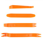 4pcs Seal Trim Removal Pry Bar Panel Door Interior Clip Remover Hand Tools Kit