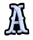 Custom Embroidered 2 Pointedly Felt Iron On Letter Number Patch Patches