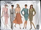 Vogue Sewing Patterns Misses Career Dressessuitscoordinates U-pick Uc Vtg Oop