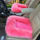 Universal Luxury Front Rear Seat Cover Fur Car Seat Cover Cushion Chair Pad Mat