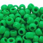 100pcsbag Acrylic Big Hole Beads For Jewelry Making Hair Rings Diy Crafts