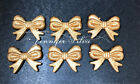 Gold Stardust Bow Beads