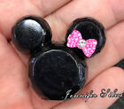 Minnie Mouse Inspired Beads 34mm X 37mm Resin Acrylic Chunky Beads