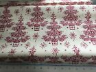 By 12 Yard Anna Griffin Yuletide Greetings Fabrics Hard To Find Christmas