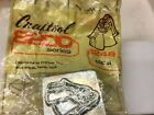 7.50 Select Vtg Craftool Co 2d-3d Leather Stamp1group 5 Free Shipping