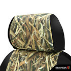 Coverking Mossy Oak Shadow Grass Blades Camo Seat Covers For Nissan Titan