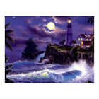 Moonnight Diy 5d Diamond Painting Embroidery Cross Stitch Kits Home Wall Decor X