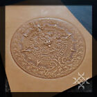 Mayan Calendar - Embossing Plate. Various Sizes. For Stamping Veg Tan Leather