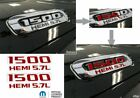 1500 Hemi 5.7l Hood Emblem Overlay Decals For 2019 2020 Ram
