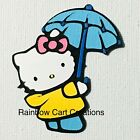 Hello Kitty Umbrella Die Cut Embellishment Scrapbook Card Topper Party Spring