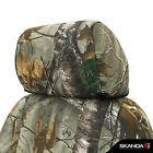2016-2019 Toyota Tacoma Double Cab Seat Covers - Coverking Realtree Xtra - Fr
