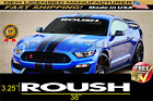 Roush Front Windshield Banner Decal Fits Ford Mustang Vinyl Decal Sticker