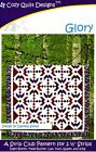 Glory A Strip Club Pattern For 2 12 Strips By Cozy Quilt Designs Cqd01101