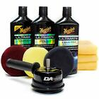 Meguiars G55107 Dual Action Power System Car Professional Results Polish Kit