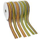 Embroidery Trims Colorful Embroidery Laces Border Ribbon Trims Laces 1meters