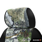 Mossy Oak Mountain Country Camo Front Seat Covers For 2016-2020 Toyota Tacoma