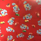 Blues Clues Red Cotton Fabric Fq Or Scrap