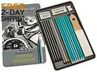 Prismacolor 24261 Premier Graphite Drawing Pencils With Erasers Sharpeners 18
