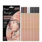 Soft Pastel Artist Pencils Crayon Charcoal For Sketching Wooden Drawing Supplies
