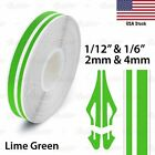 Lime Green Roll Vinyl Pinstriping Pin Stripe Car Motorcycle Tape Decal Stickers