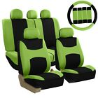Car Seat Covers Light Breezy Flat Cloth Seat Covers Combo Set Universal Fit