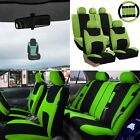 Car Seat Covers Light Breezy Flat Cloth Seat Covers Combo Set W Air Freshener