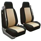 Car Seat Covers All-purpose Built-in Seatbelt Classic Cloth Front Universal Fit