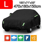 L 420d Oxford Waterproof Full Car Cover Dust Scratch Protector Outdoor For Sedan