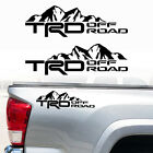 Trd Off Road Tacoma Tundra Truck Car Decals Mountain Toyota Vinyl X2 Stickers Lj