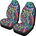 Vintage Floral Car Seat Covers For Womens Universal Fit Auto Accessory 2 Pack