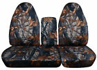 Fits 96-03 Ford F150 40-60 Hiback Seat Camouflage Car Seat Coversconsole Cover