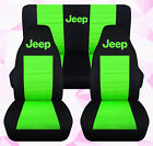 Cc Fit Jeep Cherokee Frontback Car Seat Coversblacktancharcpink