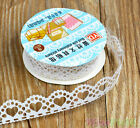 1 X Lace Tape Paper Roll Diy Scrapbooking Decorative Sticky Masking Adhesive