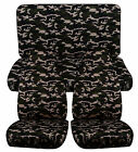 Cc Front Rear Car Seat Covers Fits Suzuki Samurai And Sidekick Lots Of Colors